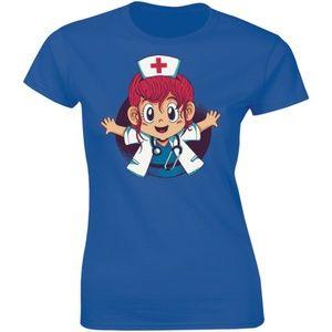 A Baby Girl Doctor - My Hero Wears Scrubs T-shirt